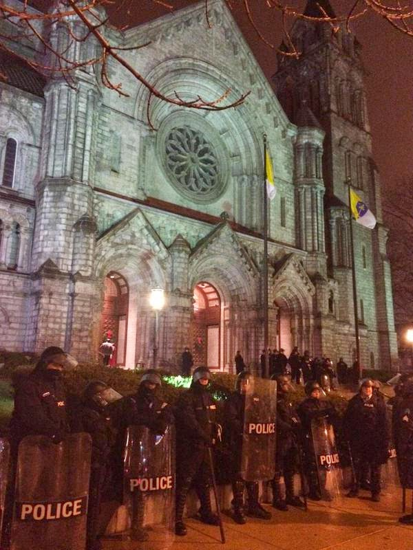http://www.thegatewaypundit.com/2014/12/riot-police-protect-st-louis-church-from-protesters-at-christmas-midnight-mass/