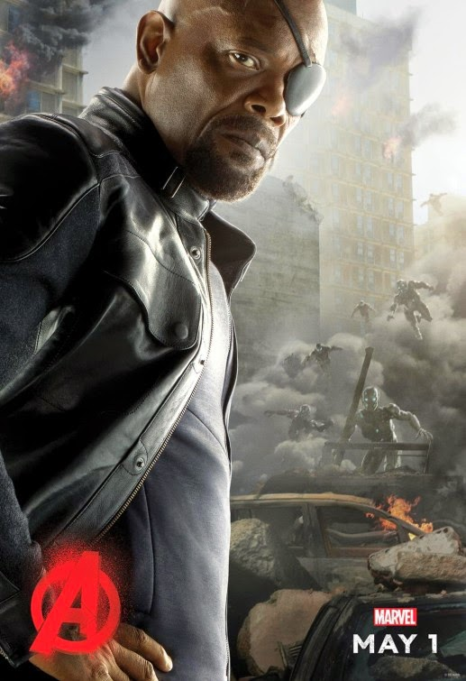 Avengers Age of Ultron Nick Fury poster