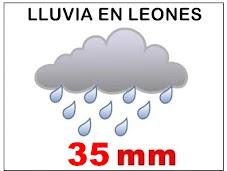 Lluvia en Leones hasta la hora 07:00