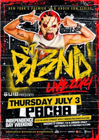 DJ Bl3nd at Pacha - 2014