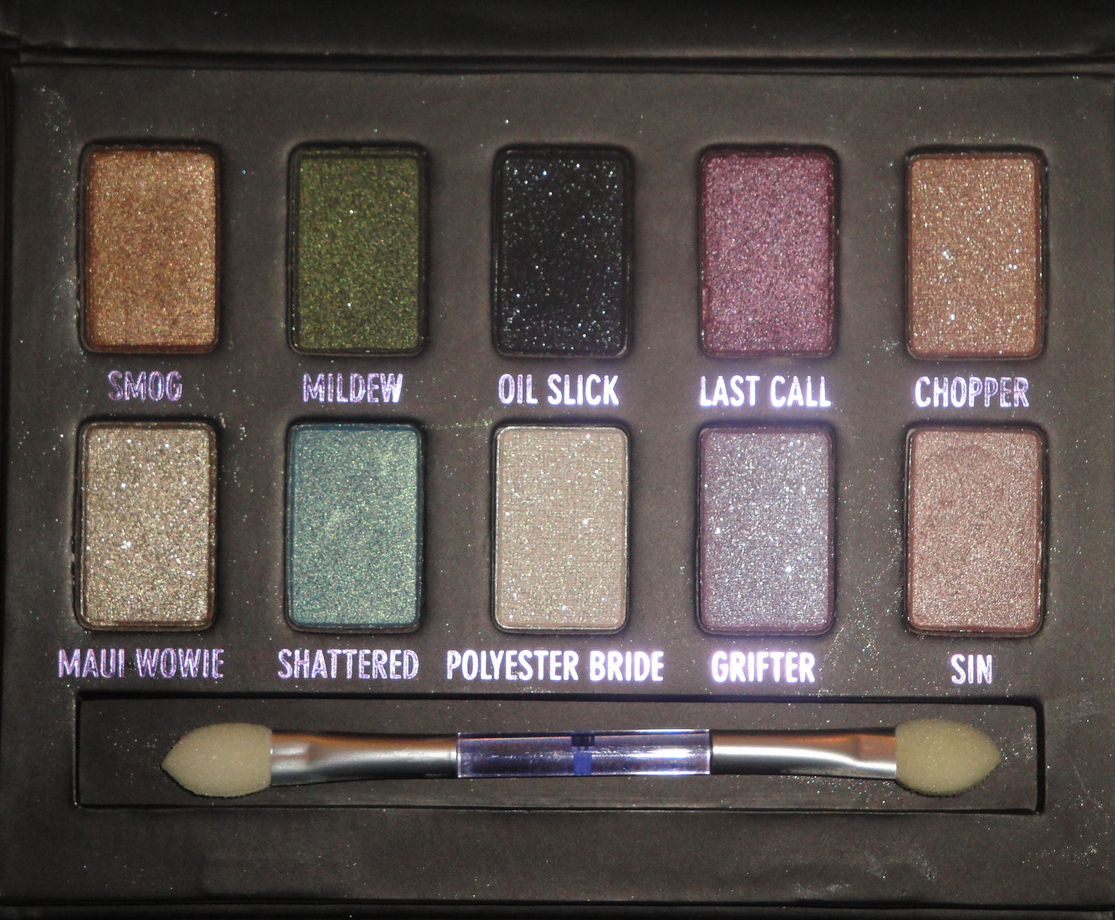 traceys nook urban decays ammo palette