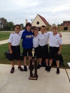 Representing Montgomery Catholic with teamwork, dedication, and leadership! 1