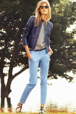 colección mujer Massimo Dutti primavera verano 2014 chaqueta piel