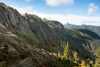 Hiking to Mount Phillips Vancouver Island