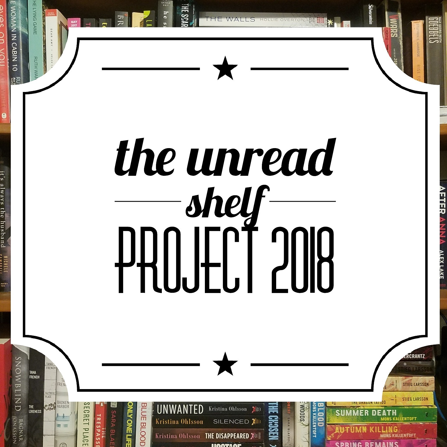 The UnReadShelfProject 2018