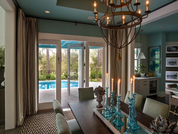 Modern Furniture: 2013 HGTV Smart Home : Dining Room Pictures