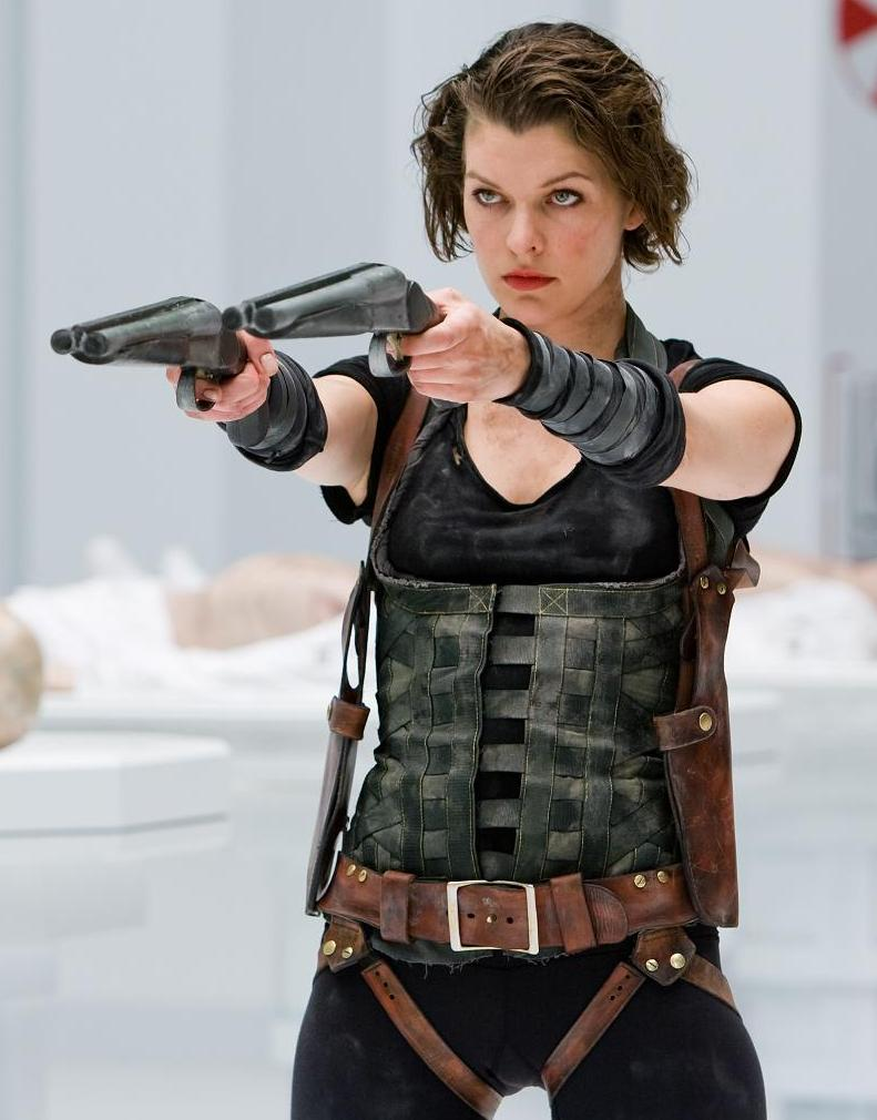 June 2011   The Ace Bl... Milla Jovovich Resident Evil 4