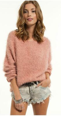 Plush Sweater- Tobi- Wild Society