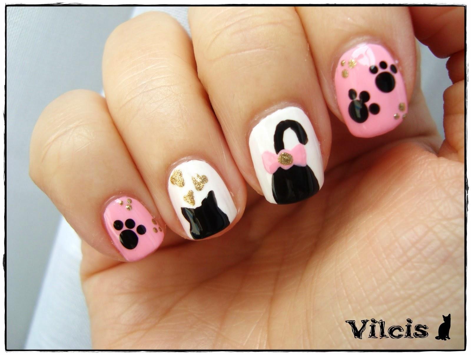 Mensajes de amor: decoraciones de uñas con lindos esmaltes, ver ...