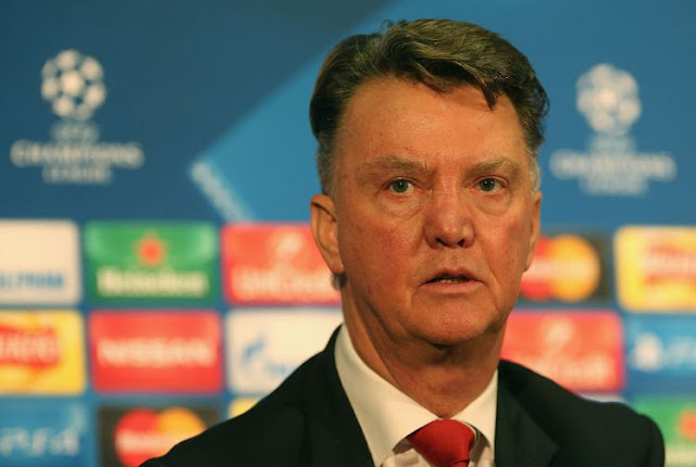 Louis van Gaal has 18 months to run on his Manchester United deal (Picture:Getty)