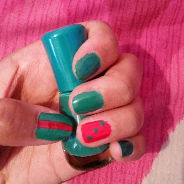 manicure natale 2014