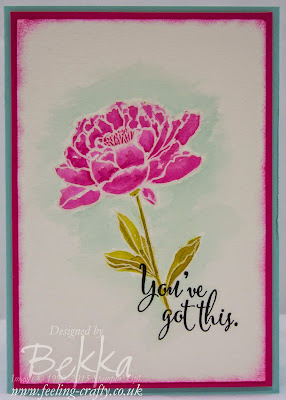 You've Got This - gorgeous stamp set from Stampin' Up! UK available here from 2 June