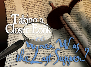 NEW! When was the Last Supper?