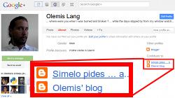 Enlace inverso a mi blog desde mi perfil de Google+