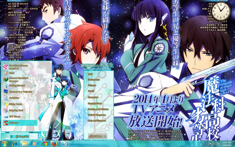 Mahouka Theme Win 7