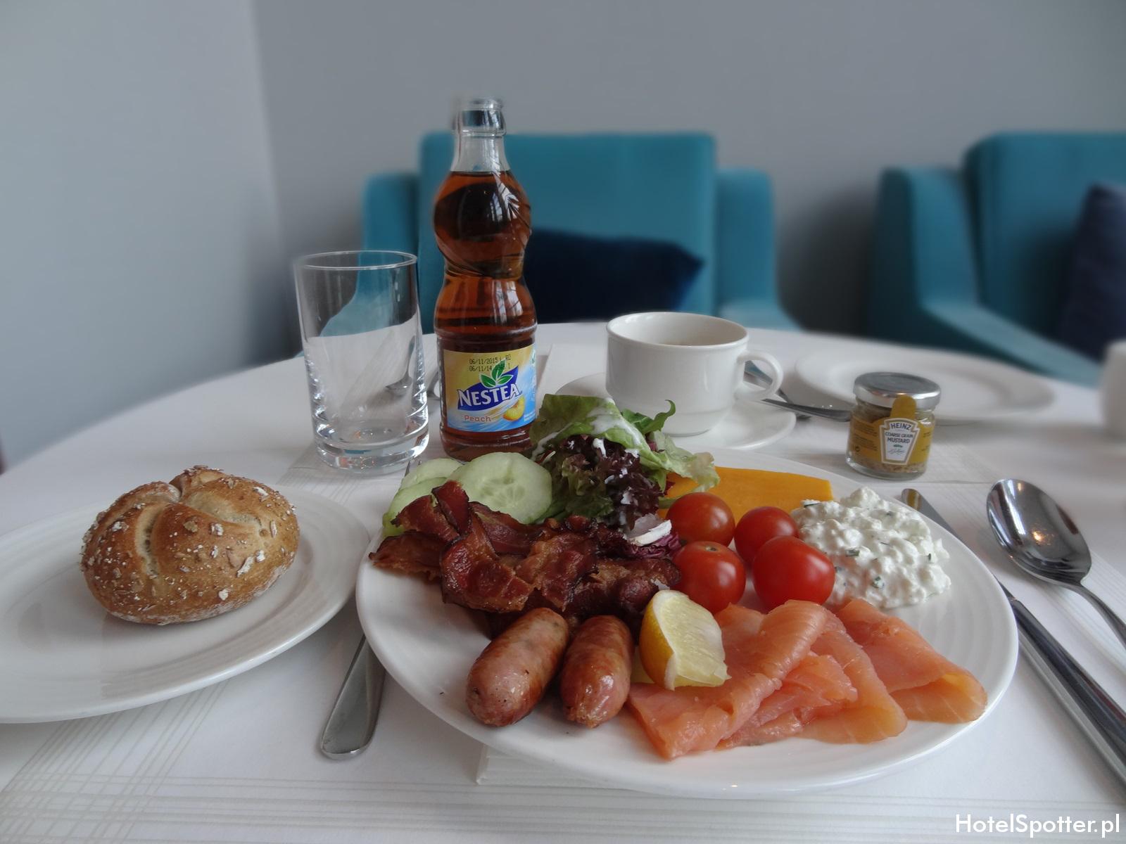 Executive Lounge w Hilton Warsaw - sniadanie 1