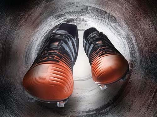 New Elegant Adidas Nitrocharge with Black and Flash Orange