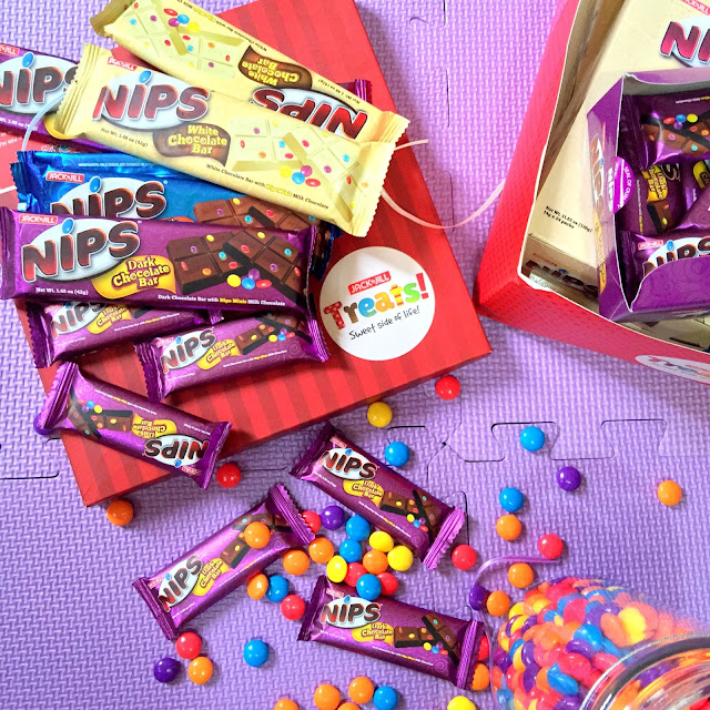 Nips chocolate bars