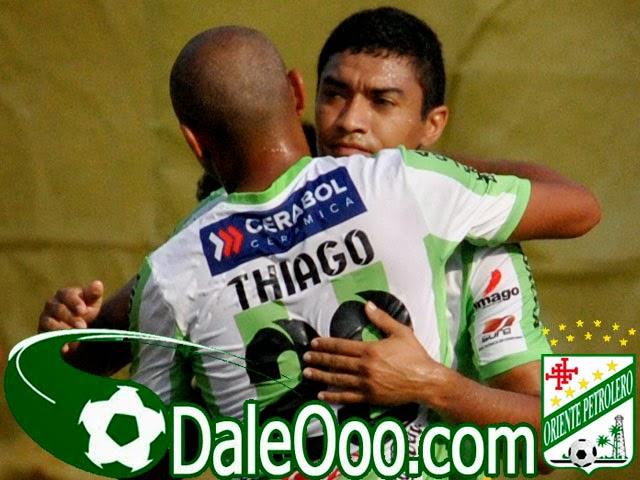 Oriente Petrolero - Thiago Dos Santos - Alcides Peña - Oriente Petrolero vs The Strongest - DaleOoo.com sitio del Club Oriente Petrolero