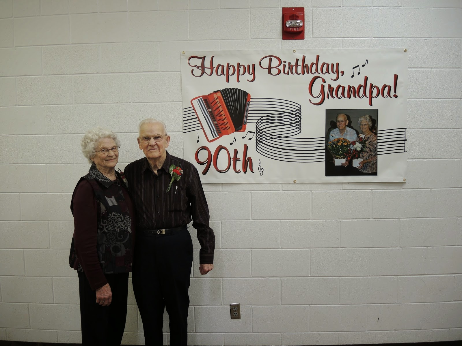 90th Birthday Banner - Printed by Banners.com
