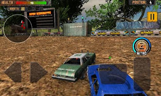 Screenshots of the Demolition derby Crash racing for Android tablet, phone.