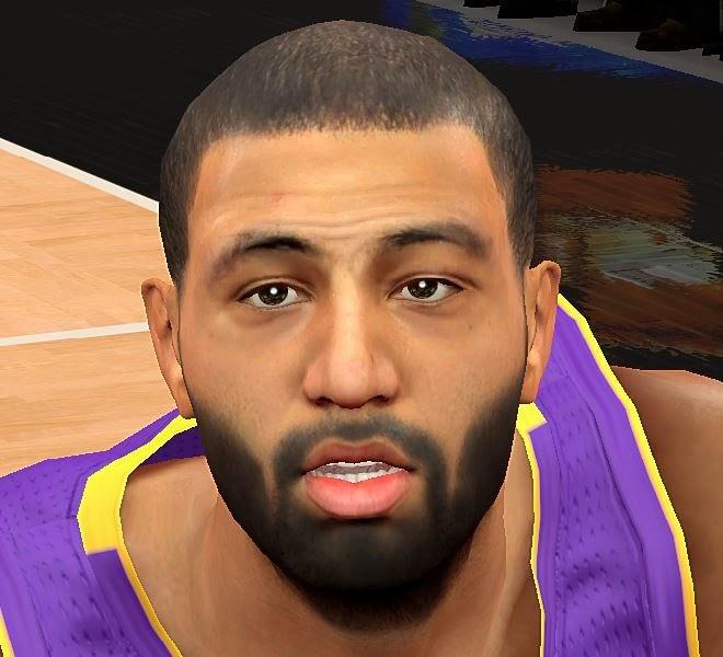 NBA 2K14 Kendall Marshall Face Mod