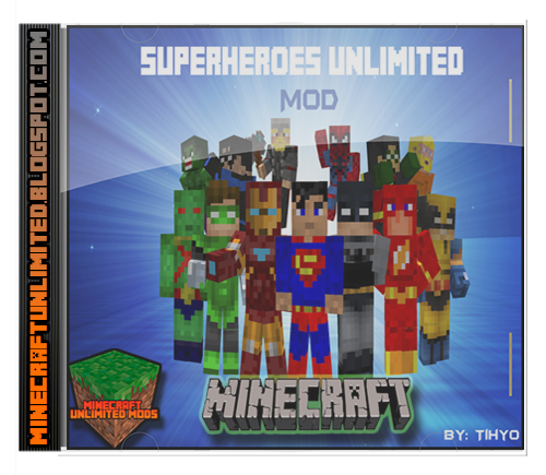 Superheroes Unlimited Mod Minecraft