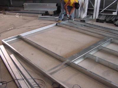 C mo fijar placas de pladur a una columna de acero - Precio de placas de pladur ...