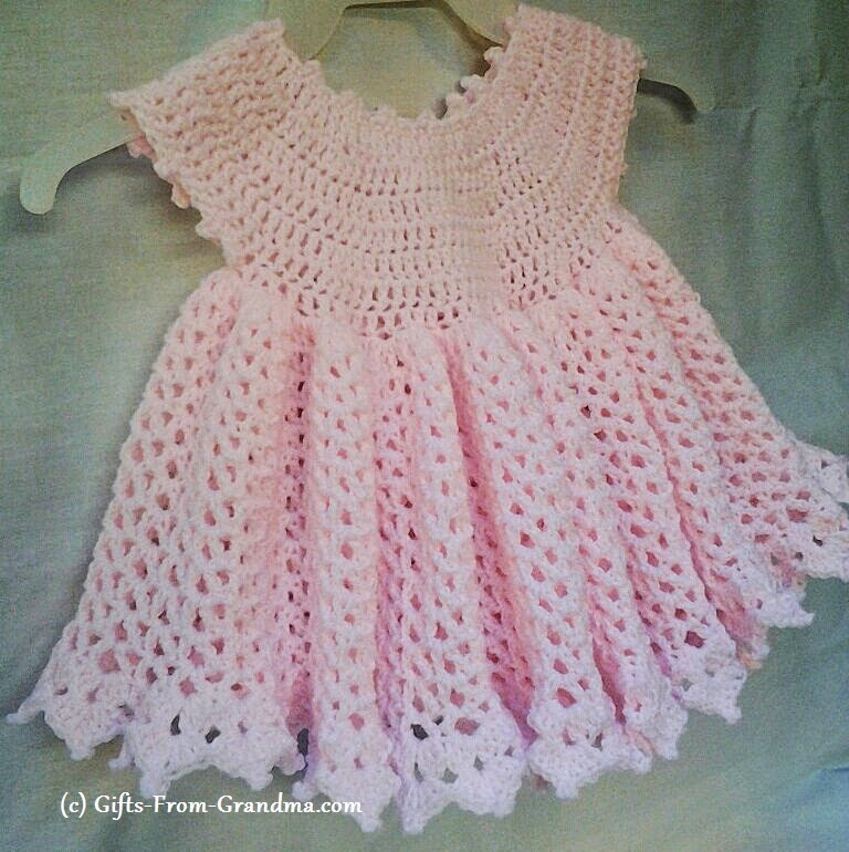 Crochet Patterns For Baby Blankets With Hoods Crochet Baby Dress Pattern