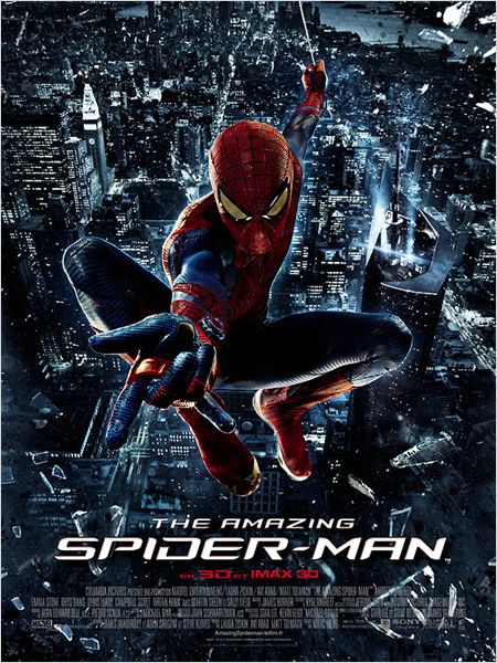 affiche The Amazing Spiderman JujuGribouille