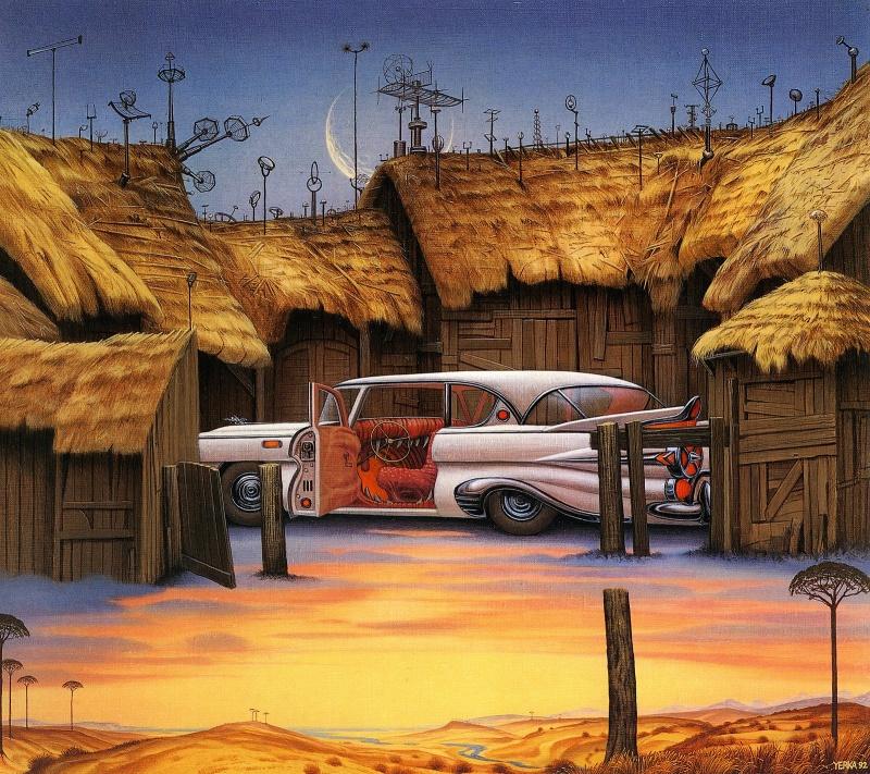 Pintura surreal - Jacek Jerko