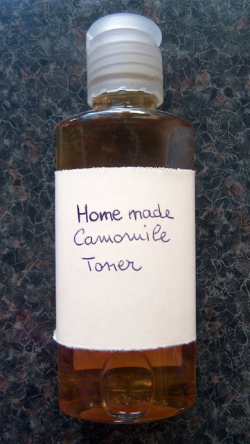 Home made Camomile Toner