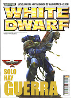 Portada de la revista White Dwarf 207