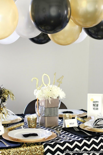 http://celebrationsathomeblog.com/2013/12/new-years-eve-golden-glam-dinner-party.html