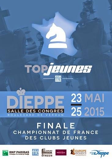 Le top jeunes d'échecs à Dieppe © Chess & Strategy