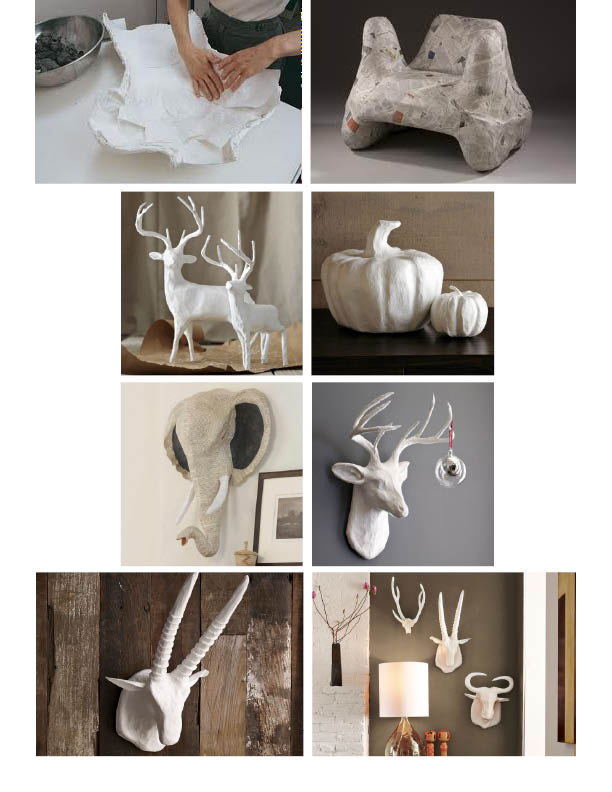 Nice Paper Mache Ideas For Home Decor Part - 4: Lunada Consulting U0026 Design: Papier-Mâché Home Decor 13 DIY Paper Mache  Decorations For Your Home. ... You Can Create A Lot Of Fun And Eye-catching  Home ...