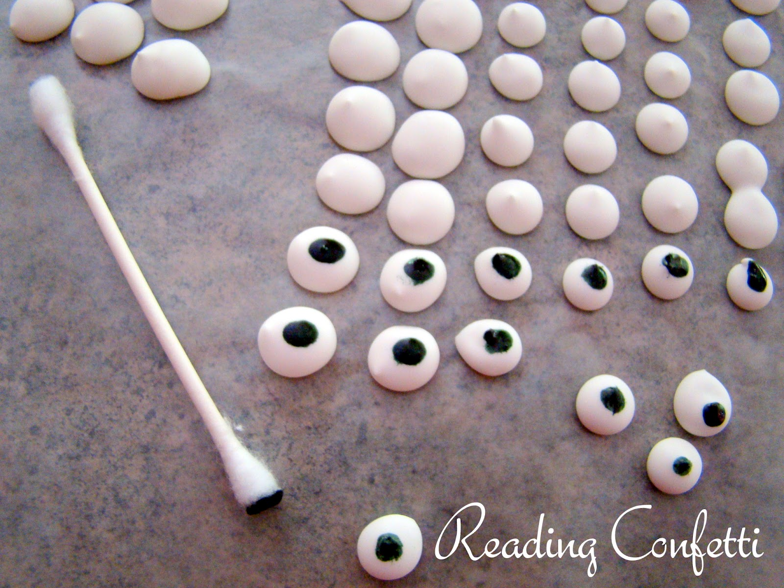 curious george ice cream diy edible eyes reading confetti. Black Bedroom Furniture Sets. Home Design Ideas