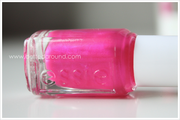 Essie Spring 2012 Tour de Finance nail polish blue sheen