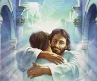 JESUS TE ABRAÇA