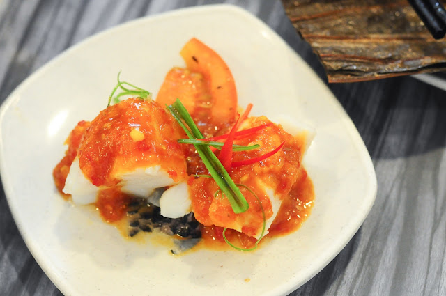 Nyonya Styled Steam Fish