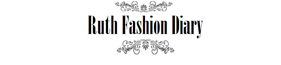 RUTH FASHION DIARY