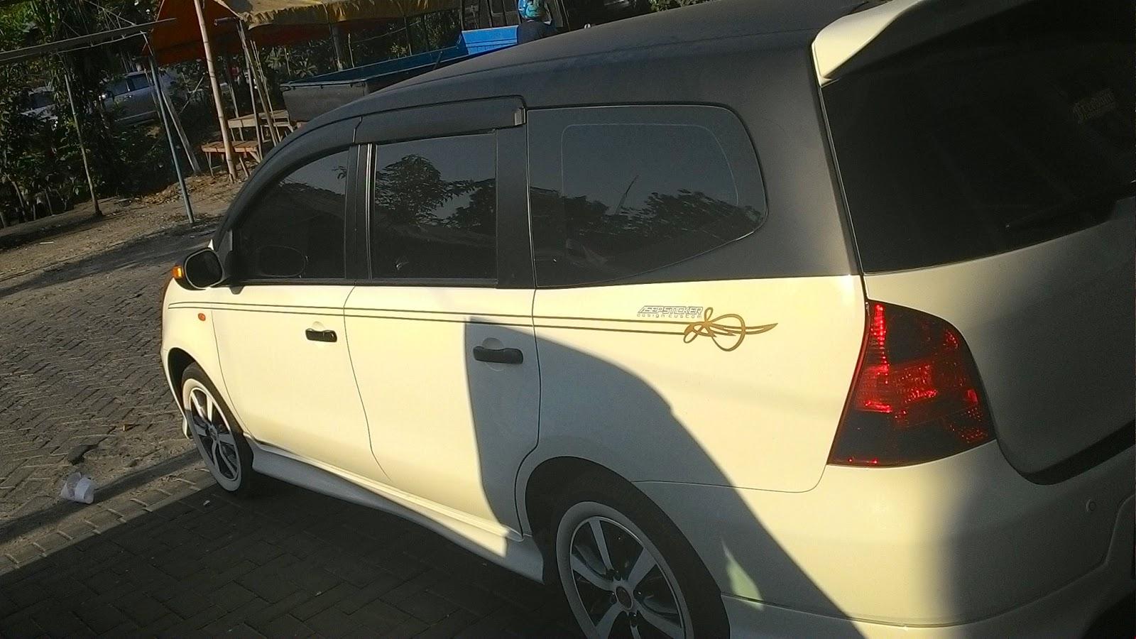 Kumpulan Cutting Sticker Mobil Livina Terlengkap Rekanotomotif