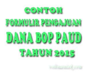 contoh formulir pengajuan dana BOP PAUD