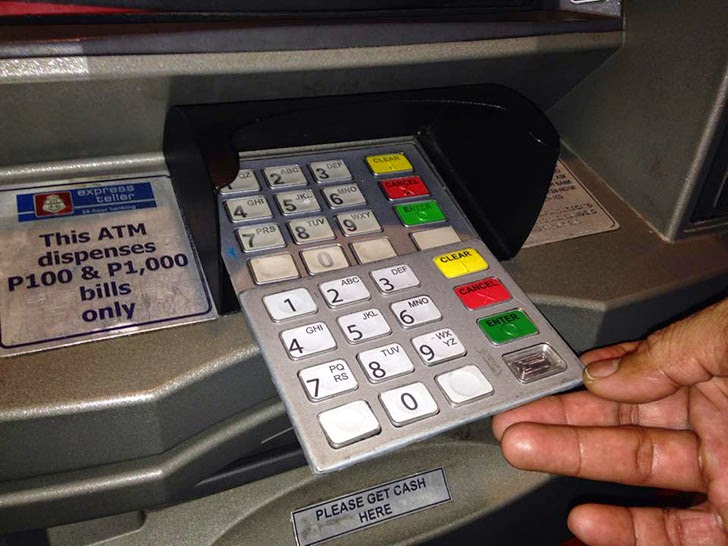 BPI ATM With Skimming Device Found at BGC