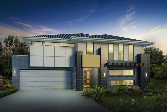techo estilo oriental a cuatro aguas garage para dos autos y elementos funcionales y decorativos como el volado sobre la ventana rawson homes