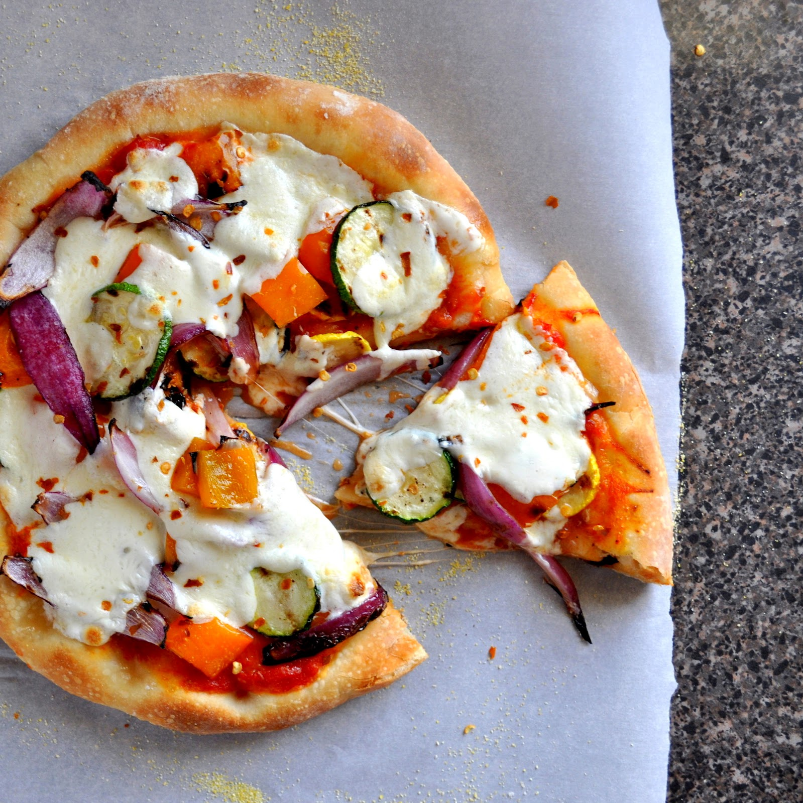 BREANNA'S RECIPE BOX: Grilled Vegetable Pizza
