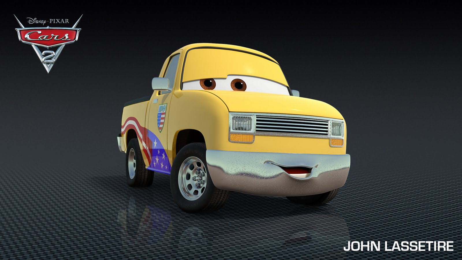 Nuevos personajes para cars 2