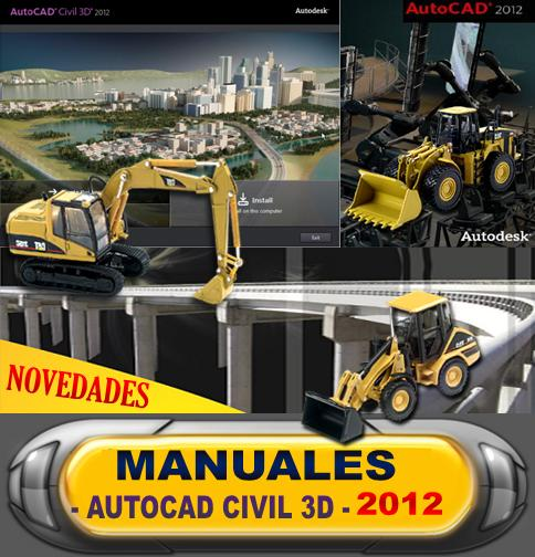 DESCARGAR MANUALES AutoCAD Civil 3D LIBROS, TUTORIALES CIVILCAD 2012