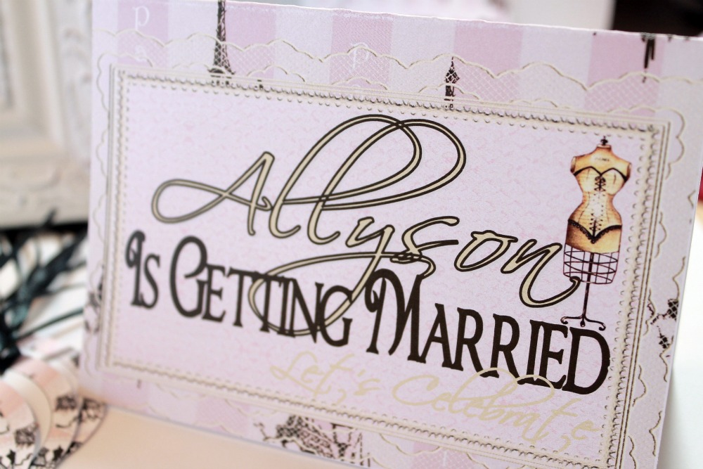 Allyson Collection - Perfect for Bridal Shower or Bachelorette ...