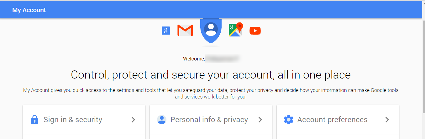 how to make one account on google your main account